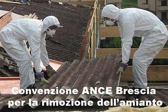 Convenzione ANCE Brescia per la rimozione dell'amianto