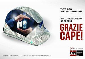 70 anni di Welfare: grazie CAPE
