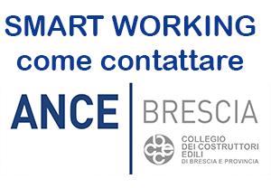 Smart Working: come puoi metterti in contatto con gli uffici di ANCE Brescia